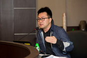 Mr Yin Ma, PhD student from Department of Sociology and Social Policy delivered the presentation