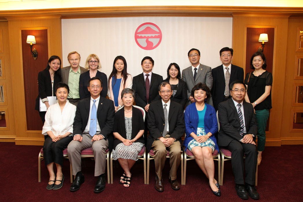 IA delegation from Lingnan Foundation pays visit to Lingnan picture