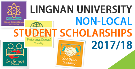 Lingnan University Non-local Student Scholarships 2017-18