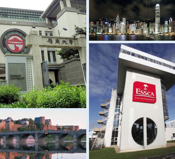 Lingnan University to launch double master programme with ESSCA School of Management