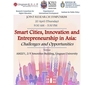 Research symposium on smart cities, innovation and entrepreneurship in Asia