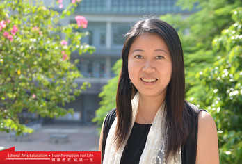Carol Ma returned from studying abroad with a service-learning course that has flourished at Lingnan