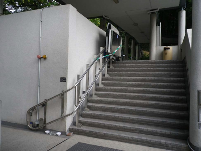 Stair Lifting Platform in Southern Student Hostel