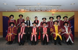 Lingnan University confers honorary doctorates upon three distinguished individuals