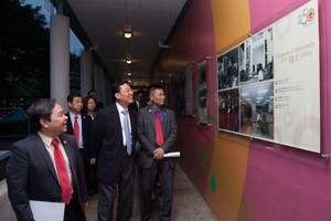 Commissioner of the Ministry of Foreign Affairs visits Lingnan