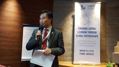 Lingnan joins Global Liberal Arts Alliance Leadership meeting
