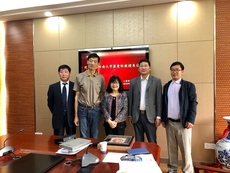 Prof Siu Oi-ling visited foreign university
