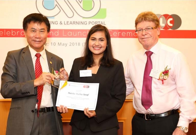Student wins Outstanding Contribution to Outcomes-Based Education Award