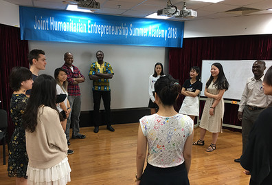 "The first ""Joint Humanitarian Entrepreneurship Programme"" held by Lingnan University and Beijing Normal University fully presented attributes of liberal arts education"