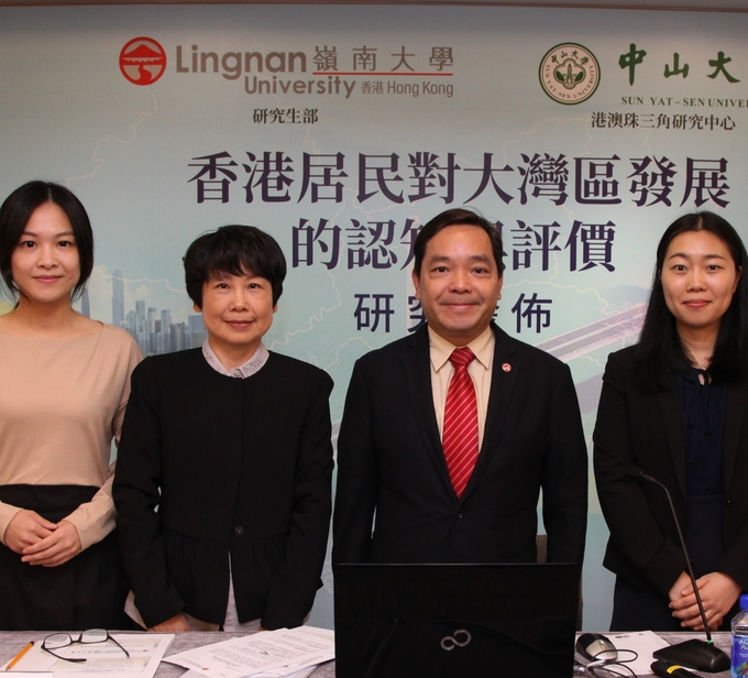 "Lingnan University and Sun Yat-Sen University release research report – ""Perception & Evaluation of Hong Kong Residents of the Greater Bay Area Development"""