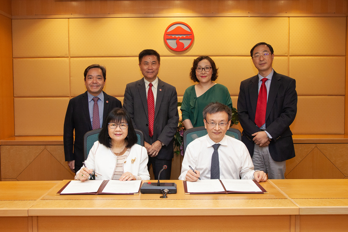 Partnership agreement between Lingnan University and Sun Yat-Sen University