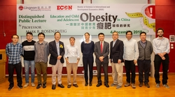 Distinguished public lecture discusses education and child and adolescent obesity in China