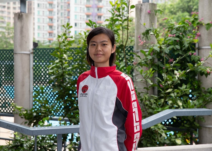 Karate athlete Eva Lam: 'Through trial and error, everyone can be a trailblazer!'
