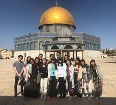 Fifteen High-Flyers visit Israel for a new experience