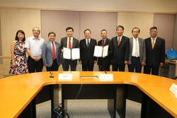 Collaboration Agreement Signing Ceremony between Lingnan University and Wuyi University for the Establishment of 'Joint Research Centre on Ageing in Place'