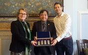 Professor Joshua Mok presents keynote speech at University of Manchester and Visit to University of Durham, UK