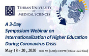 A 3-Day Symposium Webinar on Internationalization of Higher Education (IHE) during Coronavirus Crisis