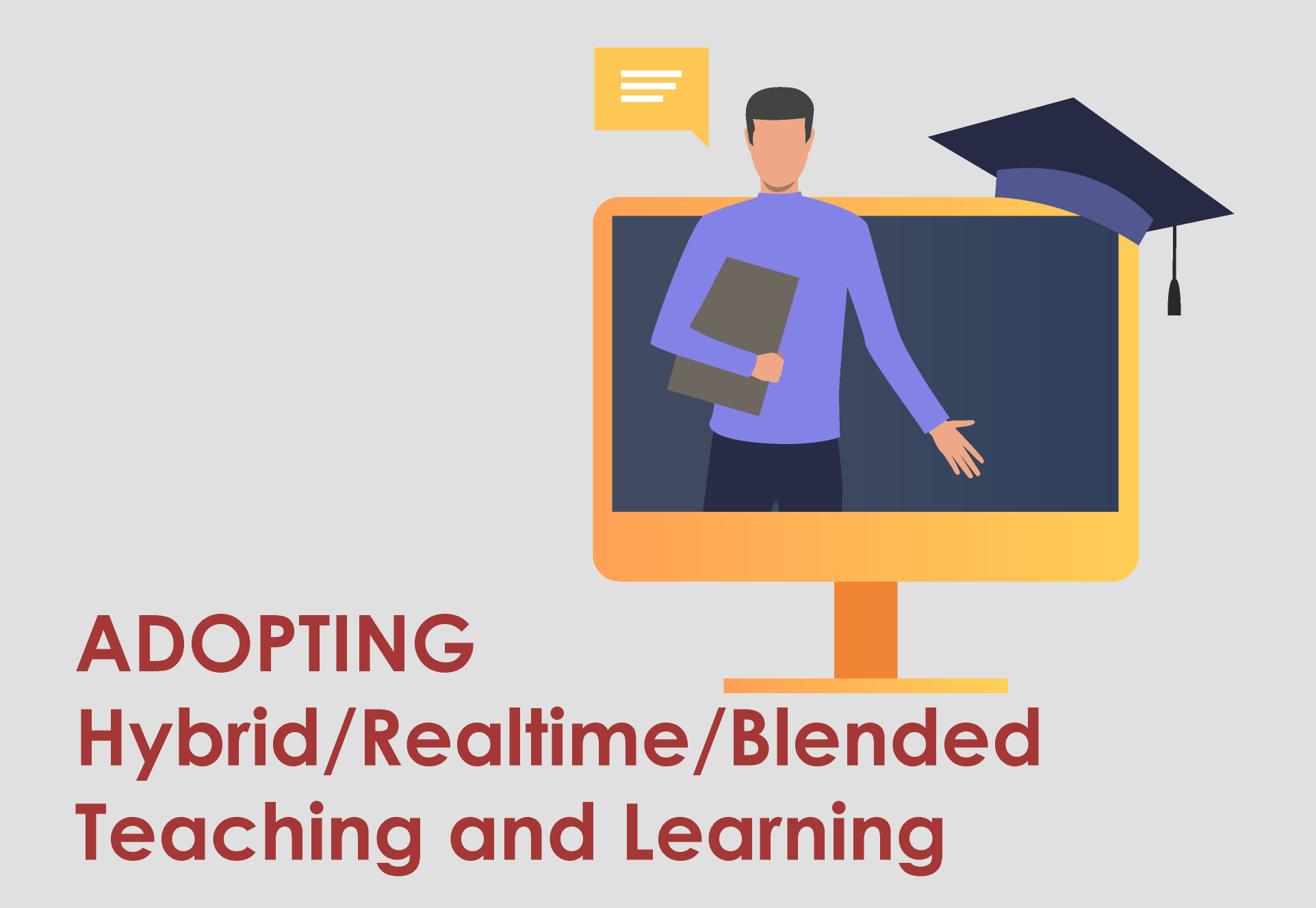Adopting real time online learning and teaching