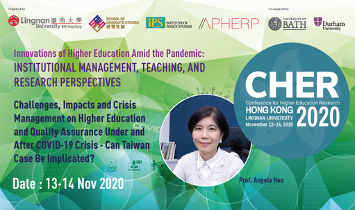 How do government policies impact quality assurance activities and accreditation services in higher education? Hear insights from Prof Angela Hou from National Chengchi University at CHER Hong Kong on 13-14 Nov