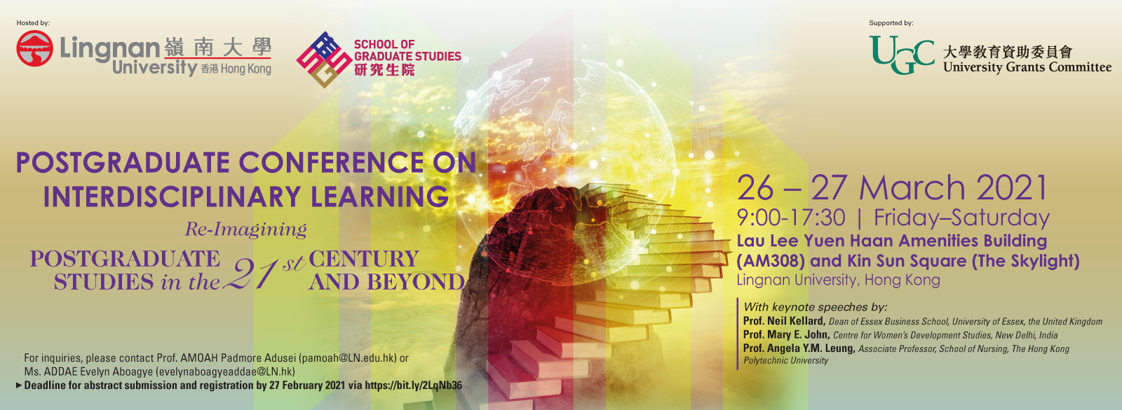 Postgraduate Conference on Interdisciplinary Learning: Re-Imagining Postgraduate Studies in the 21st Century and Beyond
